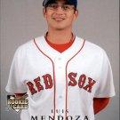 2008 Upper Deck 328 Luis Mendoza (RC)
