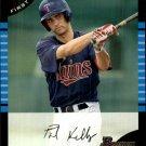 2005 Bowman Draft 62 Paul Kelly FY RC