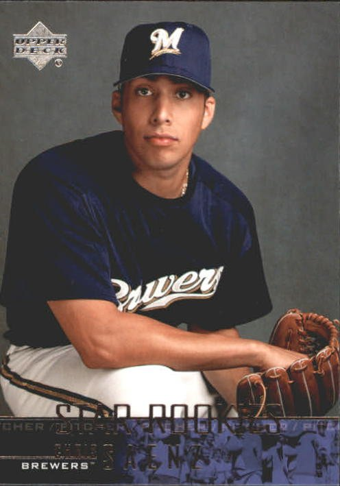 2004 Upper Deck 516 Chris Saenz SR RC