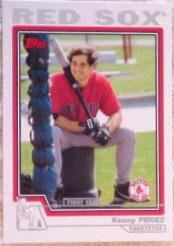 2004 Topps 311 Kenny Perez FY RC