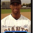 2004 Bowman 196 Carlos Sosa FY RC