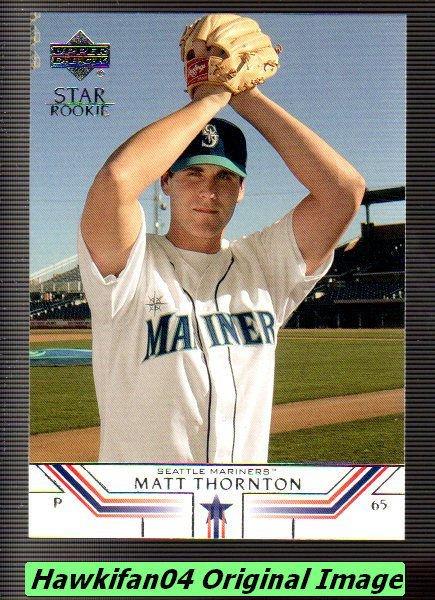 2002 Upper Deck 525 Matt Thornton SR RC