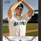 2002 Upper Deck 525 Matt Thornton SR RC