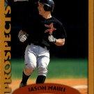 2002 Topps 315 Jason Maule PROS RC
