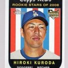 2008 Topps Heritage 524 Hiroki Kuroda RC