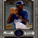 2009 UD A Piece of History 126 James McDonald RC
