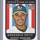 2008 Topps Heritage 617 Gregorio Petit RC