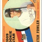 2009 Topps Heritage 122 Dexter Fowler (RC)