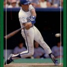 1988 Score 377 Bill Pecota RC