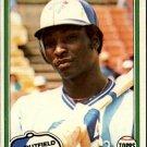 1981 Topps 643 Lloyd Moseby RC