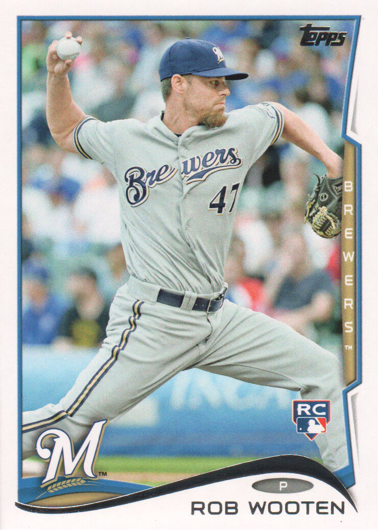 2014 Topps 494 Rob Wooten RC
