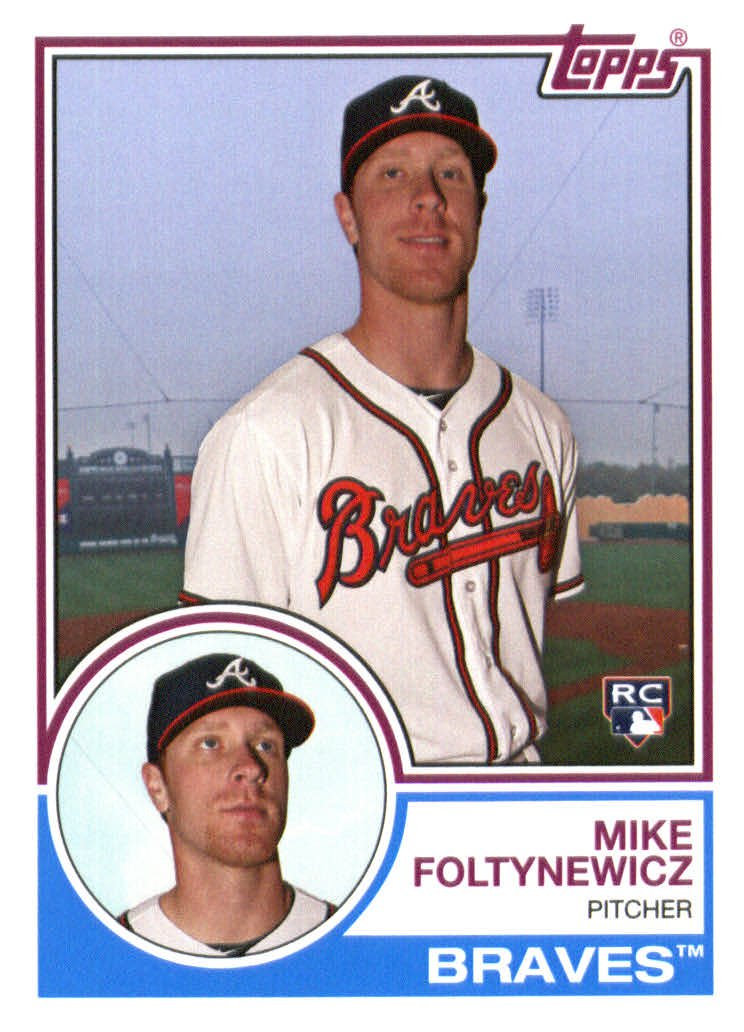 2015 Topps Archives 296 Mike Foltynewicz RC
