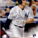 2016 Topps 188A Greg Bird RC