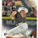 2016 Topps 519 Kyle Barraclough RC
