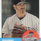 2012 Topps Heritage 339 Guillermo Moscoso RC