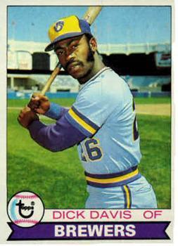 1979 Topps 474 Dick Davis RC