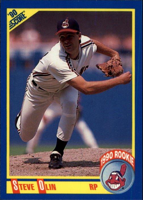1990 Score 590 Steve Olin RC