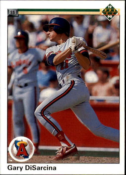 1990 Upper Deck 761 Gary DiSarcina RC
