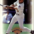 1997 Leaf 345 Tony Womack RC