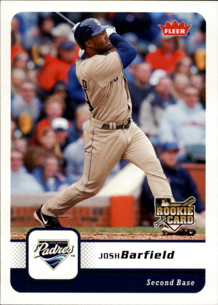 2006 Fleer 417 Josh Barfield (RC)