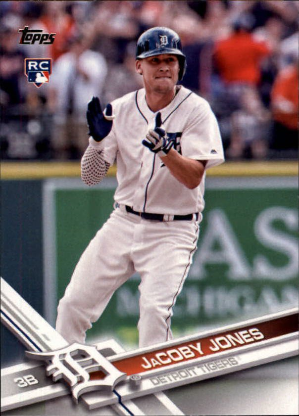2017 Topps 139 JaCoby Jones RC