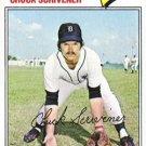1977 Topps 173 Chuck Scrivener RC
