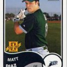 2003 Bazooka 189 Matt Diaz RC