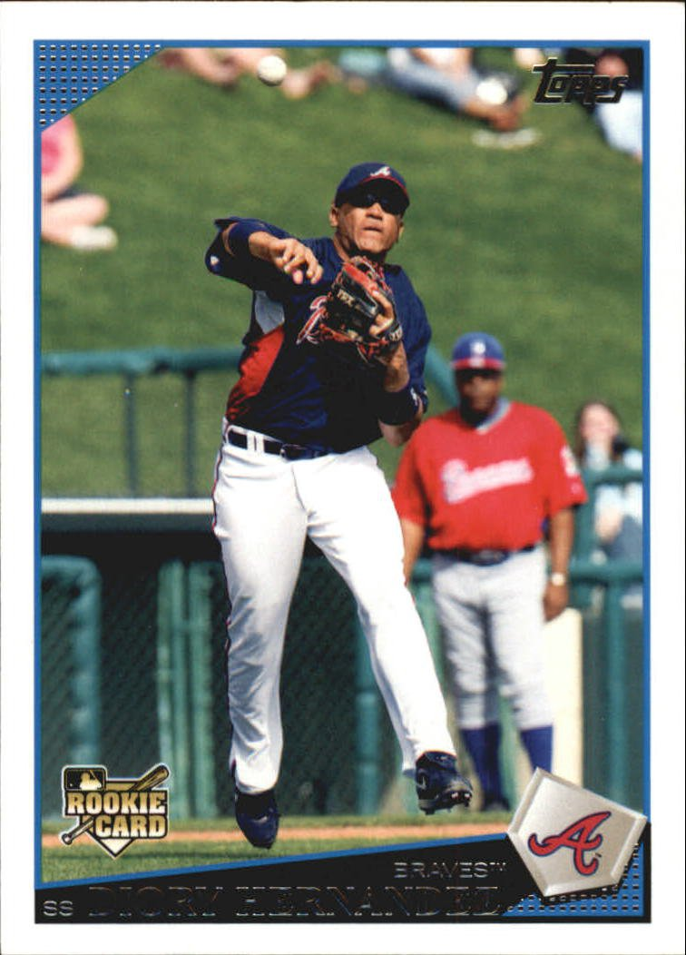 2009 Topps Update UH176 Diory Hernandez RC