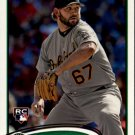 2012 Topps 202 Andrew Carignan RC