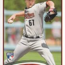 2012 Topps 595 David Carpenter RC