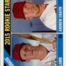 2015 Topps Heritage 127 Andrew Chafin RC/Jake Lamb RC