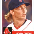 2016 Topps Archives 31 Henry Owens RC