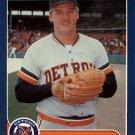 1986 Fleer Update 21 Chuck Cary XRC