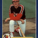 1986 Fleer Update 59 Wally Joyner XRC