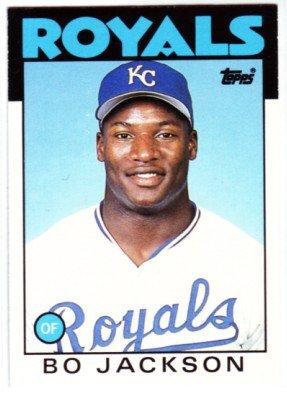 1986 Topps Traded 50T Bo Jackson XRC