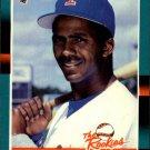 1988 Donruss Rookies 9 Cecil Espy XRC