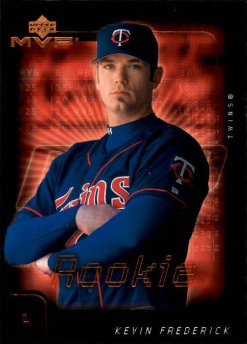 2002 Upper Deck MVP 116 Kevin Frederick RC