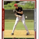 2005 Topps 321 Wade Robinson FY RC