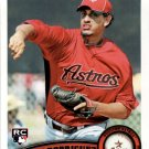2011 Topps 506 Aneury Rodriguez RC