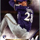 2016 Topps 634 Jorge Lopez RC