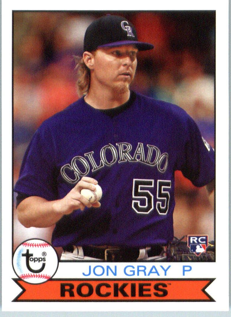 2016 Topps Archives 154 Jon Gray RC