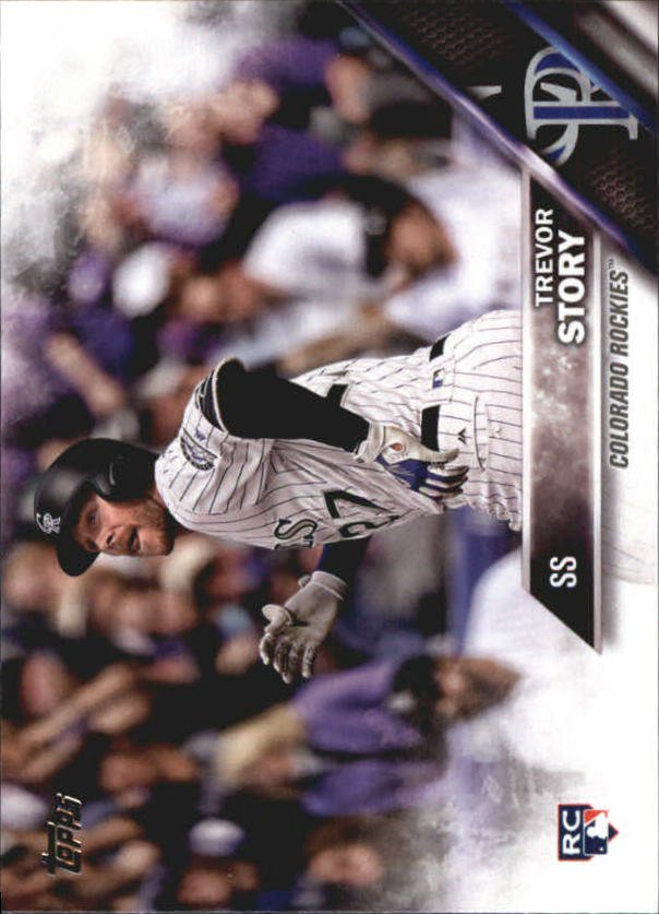 2016 Topps Update US226A Trevor Story RC