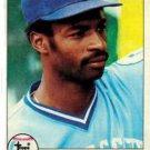 1979 Topps 409 Willie Wilson RC
