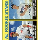 2016 Topps Heritage 168A Corey Seager RC/Jose Peraza RC