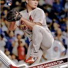 2017 Topps Opening Day 182 Seung-Hwan Oh RC