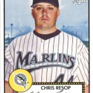 2006 Topps 52 105 Chris Resop (RC)