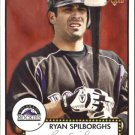 2006 Topps 52 11 Ryan Spilborghs (RC)