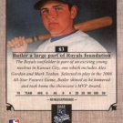 2007 UD Masterpieces 83 Billy Butler (RC)