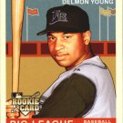 2007 Upper Deck Goudey Red Backs 197 Delmon Young (RC)