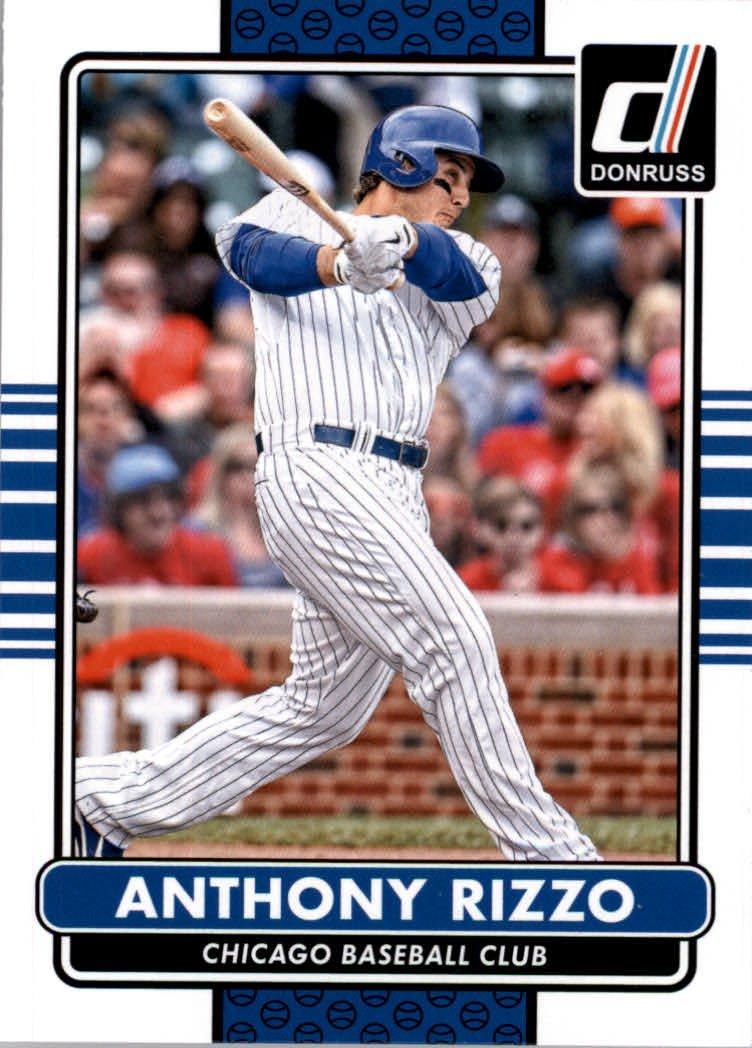 2015 Donruss 63 Anthony Rizzo